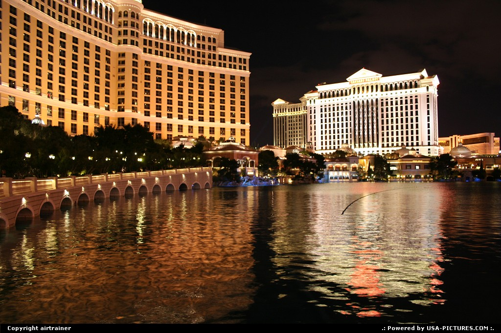Picture by airtrainer: Las Vegas Nevada   las vegas, strip, bellagio, fountains, show