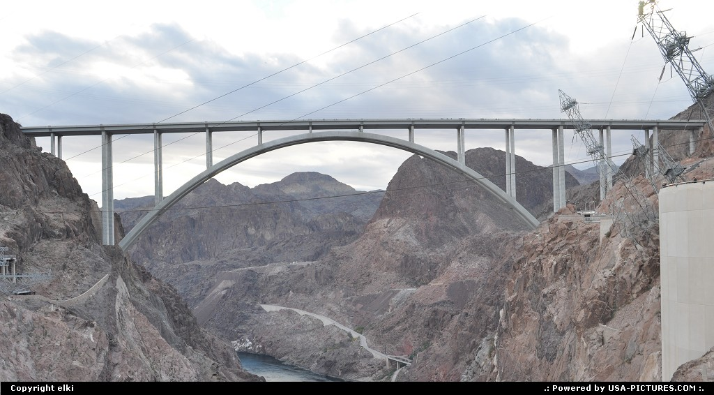 Picture by elki:Not in a CityNevadahoover dam, bypass