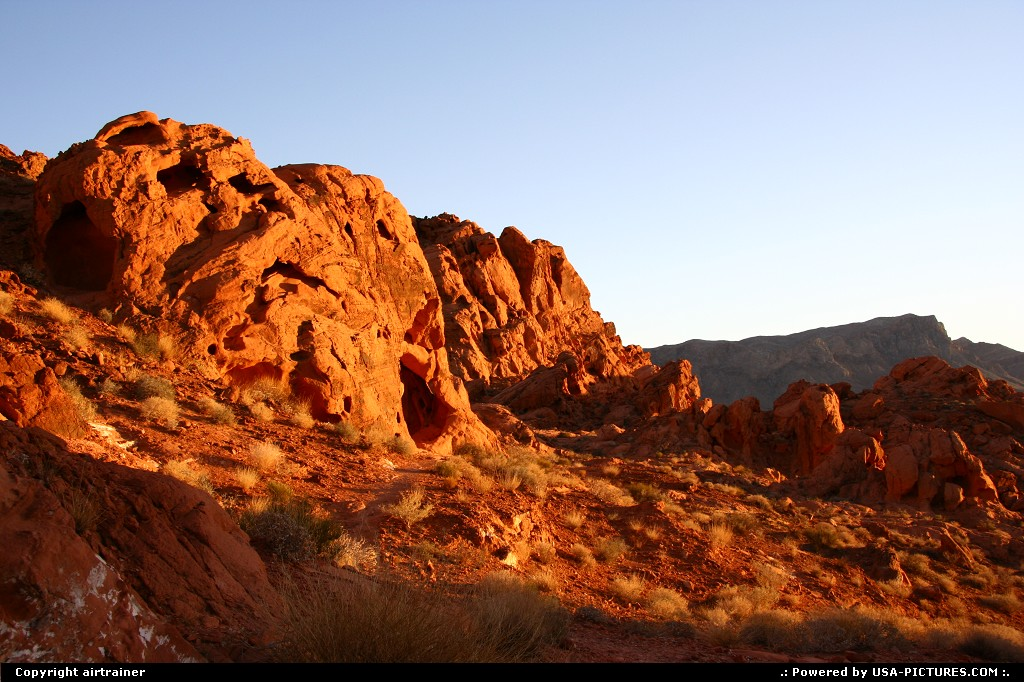 Picture by airtrainer: Not in a City Nevada   valley of fire