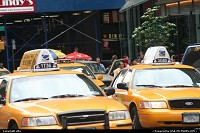 Photo by elki | New York  New york yellow cabs