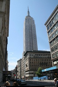 Photo by elki | New York  New york empire state building