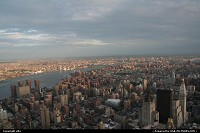 New york, manathan overview from the empire state building