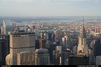 Photo by elki | New York  Chrysler building pan am building empire state