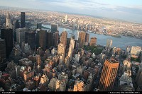 view from empire state manathan