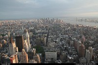 Photo by elki | New York  Manathan view from empire state