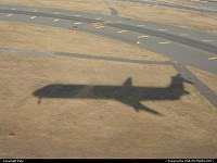 Photo by Kate | New York  plane, shadow,
