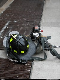 , New York, NY, NYC firefighter helmet