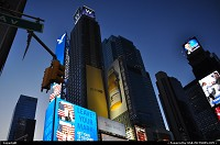 New-york, Love the color palette in Times Square by evening. Scene here is always different, albeit impressive at the infernal pace of new ad campaign. New York Style Baby!