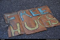 New York : Free Hugs in Times Square? Well, I certain;y can use some!