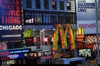 Photo by elki | New York  Times sqare, Mc Donalds