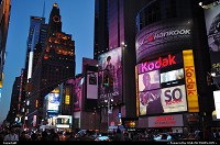 New York : Time Square, impressive as usual. Even better under this warm evenening of July ...