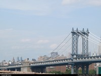 New-york, Manhattan Bridge