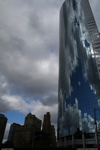 Photo by USA Picture Visitor | New York  New York City, Downtown Manhattan, skyscrapers, old with new, small and large, NYNY, church, colors, landscape, contrast, composure, tall and small,
