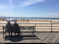 Brighton Beach in Coney Island, NYC