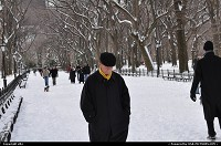 Photo by elki | New York  central park snow