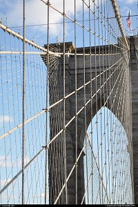 Photo by elki | New York  new york brooklyn bridge