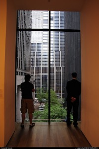 Photo by vincen | New York  moma museum manhattan window neil