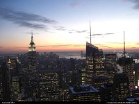Photo by elki | New York  new york sunset