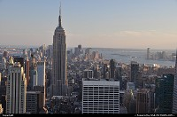 Photo by WestCoastSpirit | New York  top of the rock, rockfeller center, empire state, NYC, Time Square