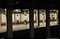 New York : The ghost of the subway