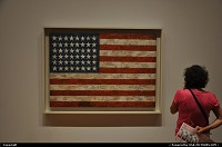 New York : Flag by Jasper Johns, exposed at MoMa, NYC. Dedicated to all 9/11 victims, 10 years after.