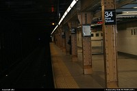 The subway at penn station