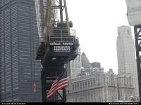 Photo by WestCoastSpirit | New York  crane, 9/11, wtc