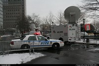 New-york, Policemen and media, around the A320,recovered from hudson river, park zone.