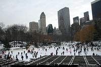 New York : Central park rink