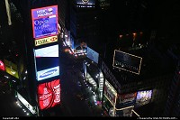 New York : Times sqare by night