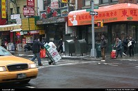 New-york, Chinatown .. it's like an anthill. Many people around, each with his role !! amazing