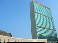 This is not America, the United Nations building.