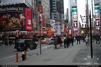 Probably the most photographed place on earth? Time Square, downtown New York