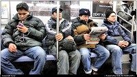 Photo by tazar | New York  people,metro