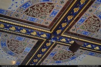 New york : Minton Tile Ceiling in Central Park, close to the Mall. Gorgeous!