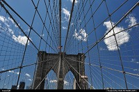 Photo by WestCoastSpirit | New york  NYC, skyscraper, brooklyn, bridge