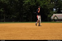 Playing Baseball in Central park, New York City stylle :)