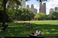 New york : Time to relax in Central Park ...