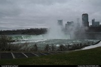 Another view of the Canadian side of Niagara Falls