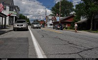 Main Street in Schroon Lake, a great place to stay in northern part of the state, almost in Canada. Nice lake, forest everywhere. Kayaking, fishing, resting ... New York State is much, much more then New York City!
