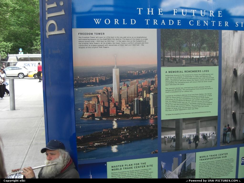 Picture by elki:New YorkNew-yorkNew york 11 september 2001