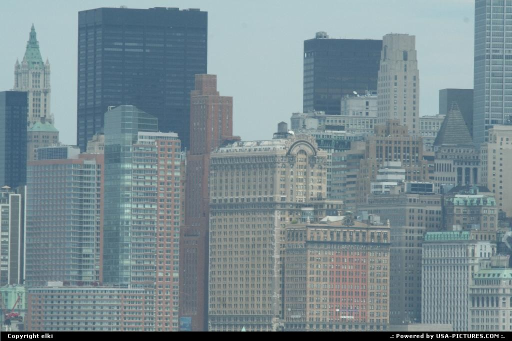 Picture by elki:New YorkNew-yorkNew york sky crappers