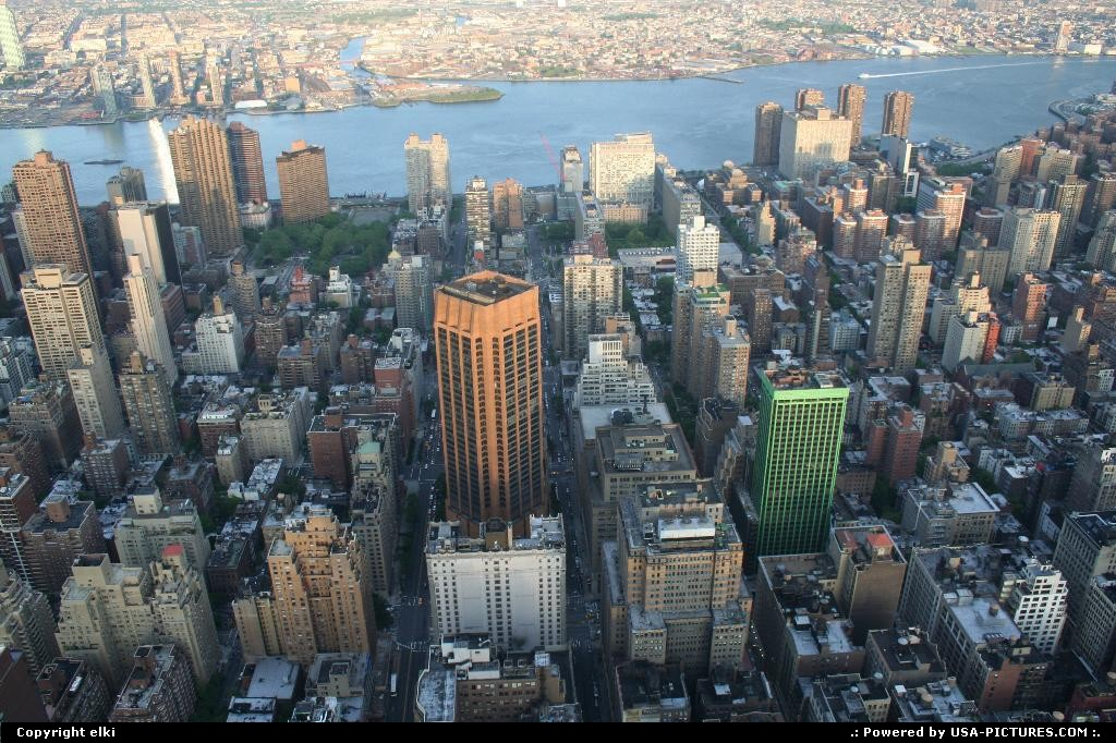 Picture by elki: New York New-york   New york, overview empire state building