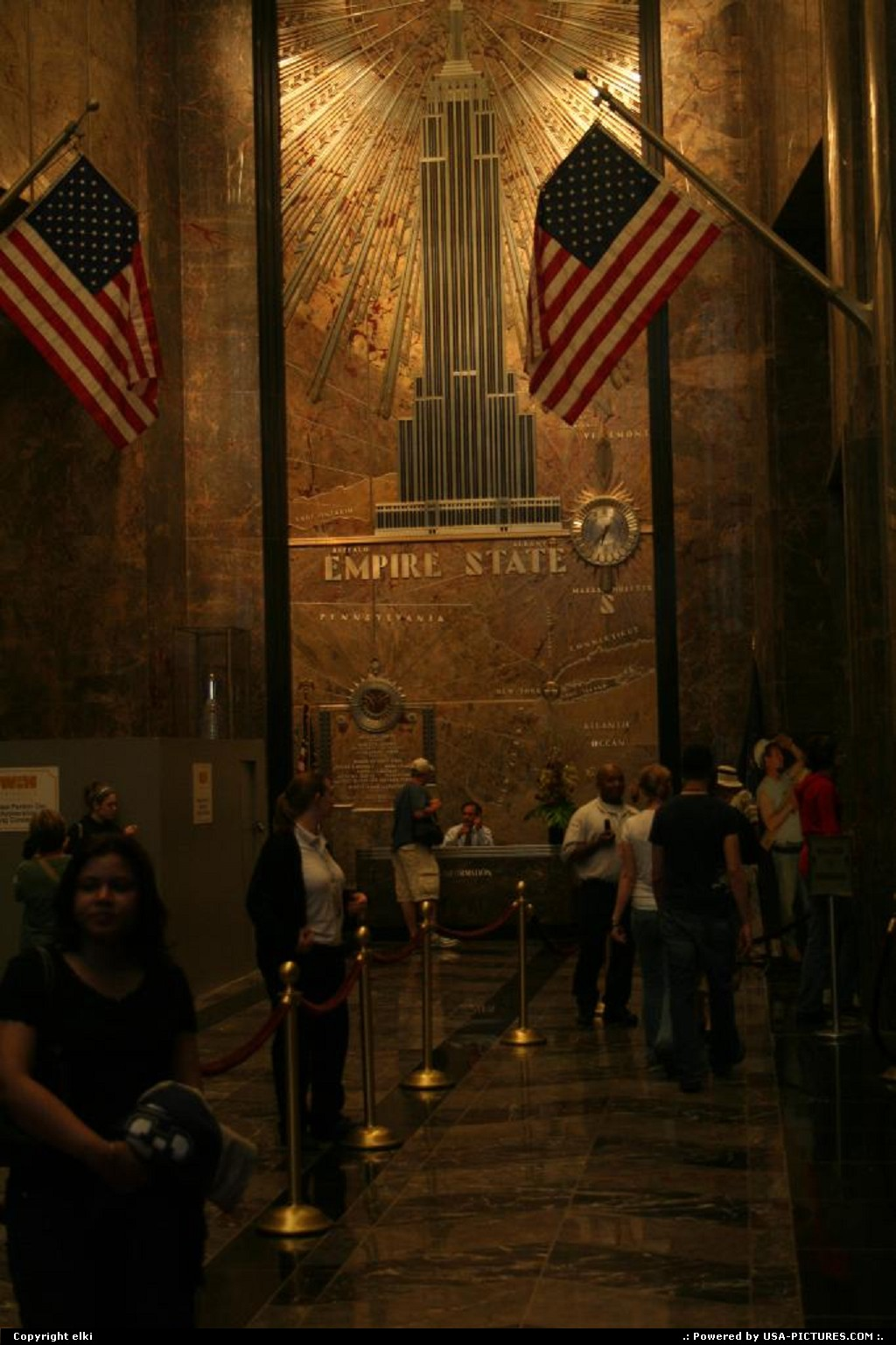 Picture by elki: New York New-york   New york empire state building