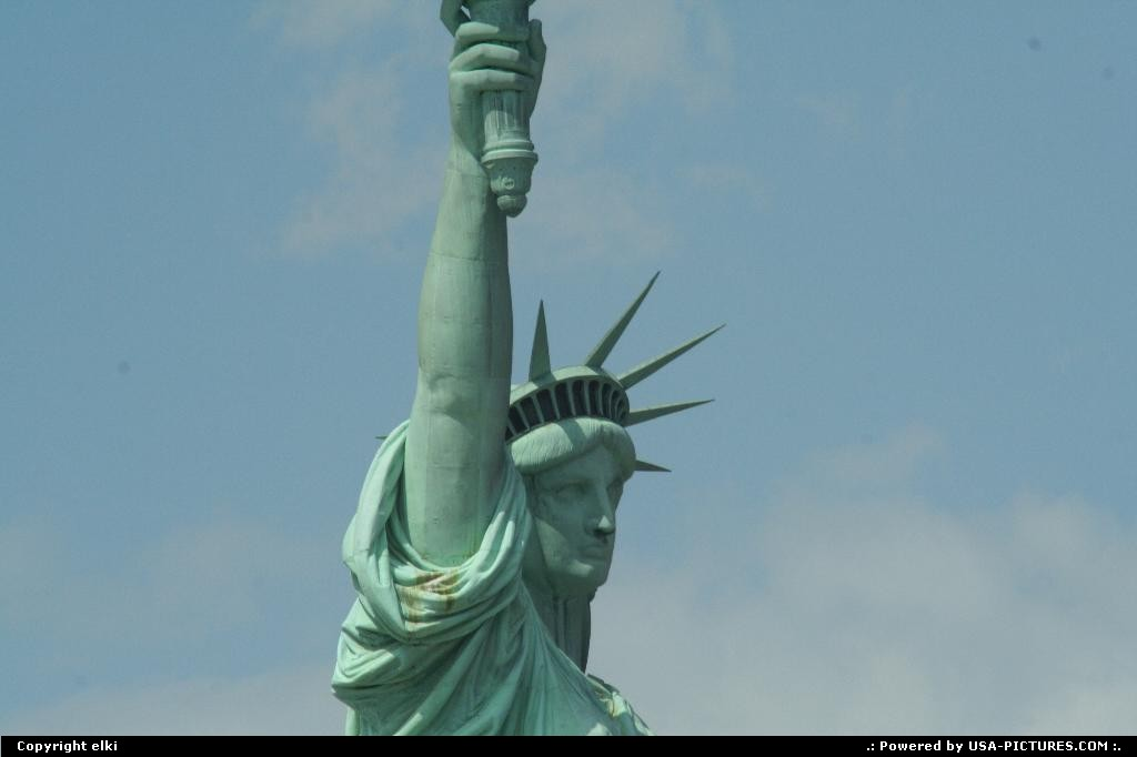 Picture by elki: New York New-york   New york statue of liberty