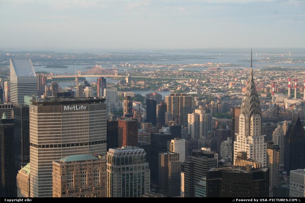 Picture by elki:New YorkNew-yorkChrysler building pan am building empire state