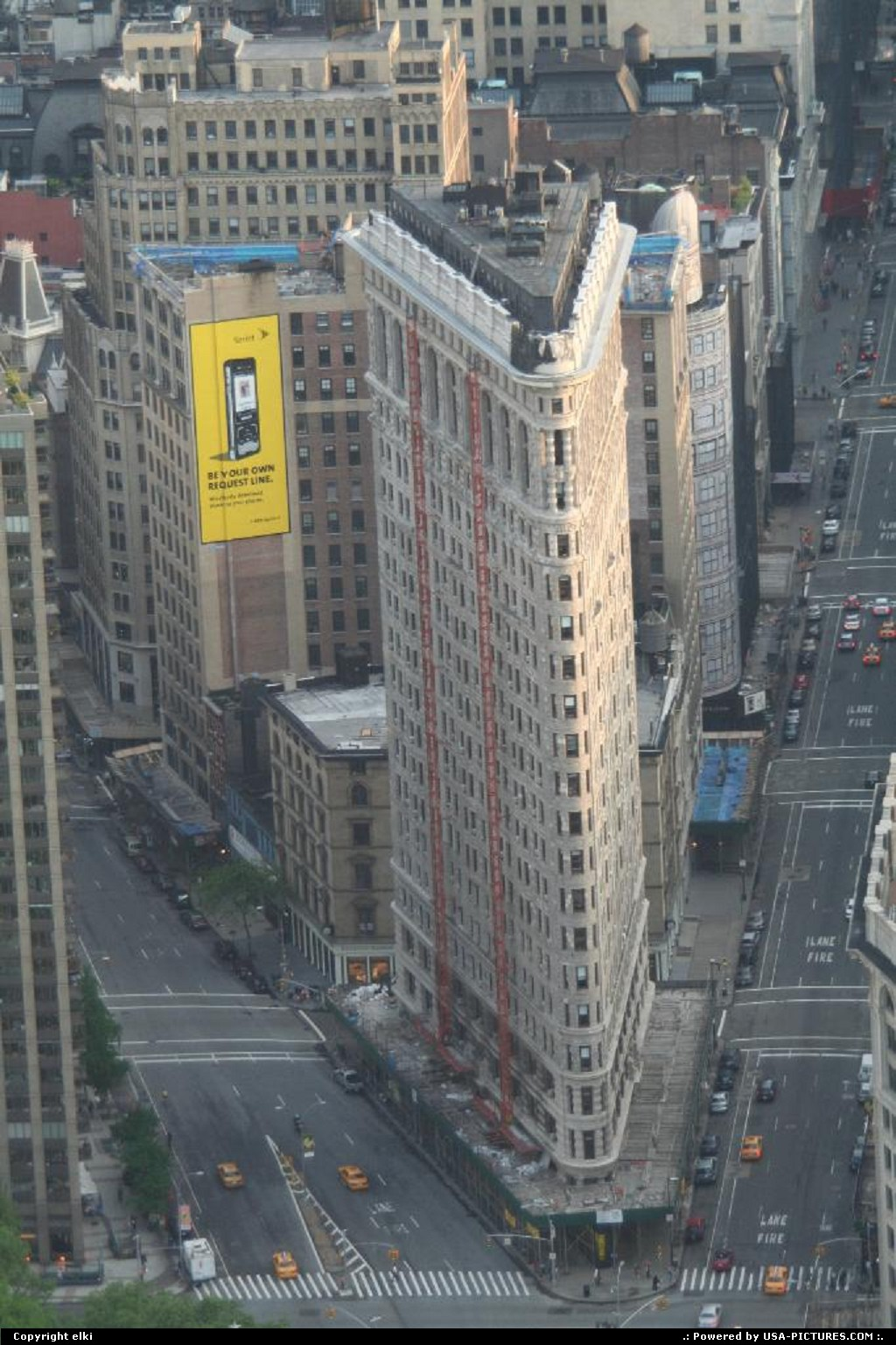 Picture by elki:New YorkNew-yorkFlatiron Building