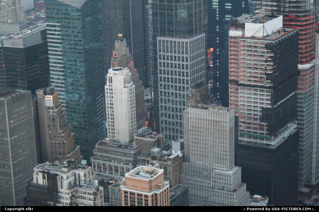 Picture by elki:New YorkNew-yorkmanathan buildings view