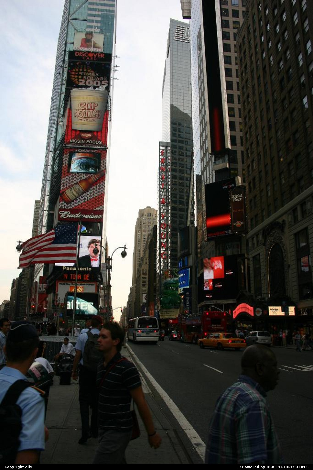 Picture by elki:New YorkNew-yorkTime square