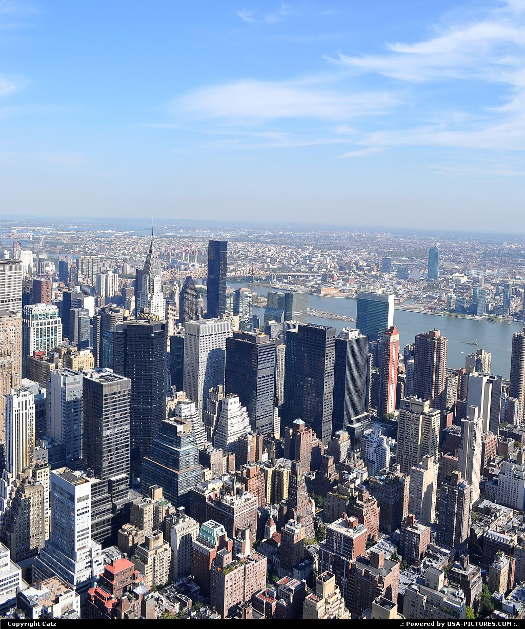 Picture by Catz: New York New-york   From the Empire State Building